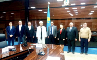 A PRE ROUNDTABLE EVENT IN SHYMKENT, KAZAKHSTAN